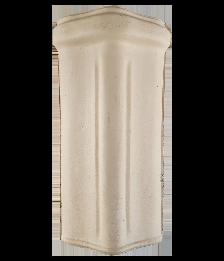 Majope - Telha - Telha para Acabamento Cumeeira Celin Branca